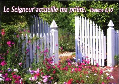 Mini Carte Porte de jardin