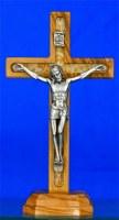Crucifix sur pied 8 cm.