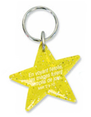 Porte-clés étoile jaune, Matt.2v10