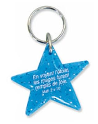 Porte-clés étoile bleue,  Matt.2v10