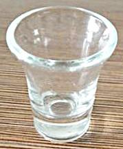 Boite de 20 verres en verre pour sainte cène.