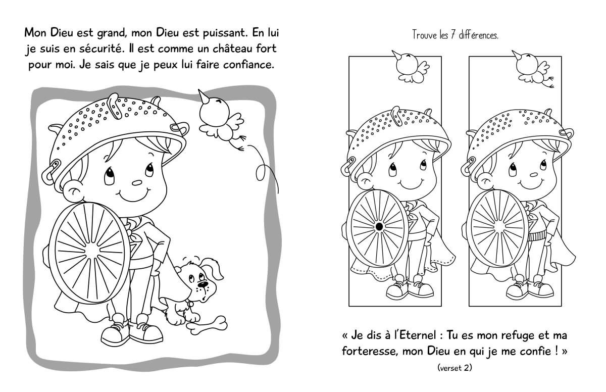 Coloriage Chateau Ps.Mon Refuge Ps 91 Album Jeux Et Coloriage La Boutique De Nicodeme