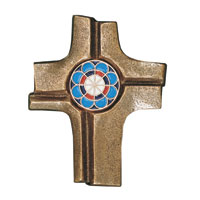 Croix  en bronze