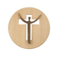 Croix murale ronde