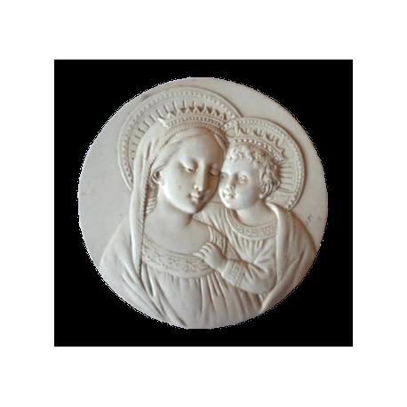 Médaille Vierge couronnée