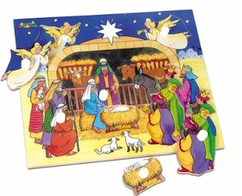 PUZZLE CRECHE 6 PIECES