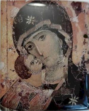 Icône autocollante Vierge de Tendresse
